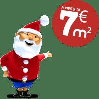 mascotte sept euro m carre