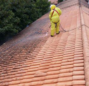 votre nettoyage de toiture