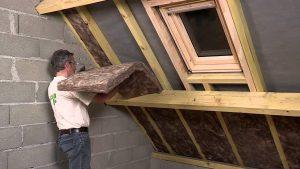 Avec l'isolation thermique de toiture